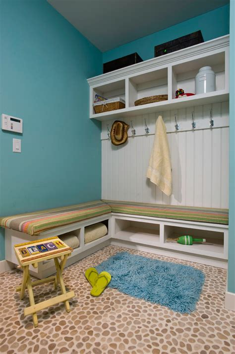 corner cubby bench corner mudroom bench entry contemporary with built in