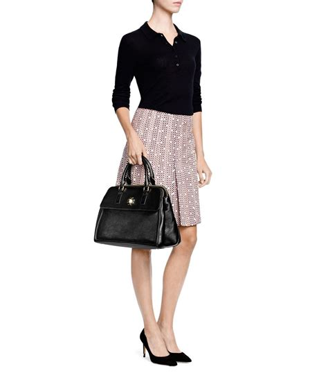 T Y Burch Pebbled Dome Mini lyst burch mercer dome bag in pink