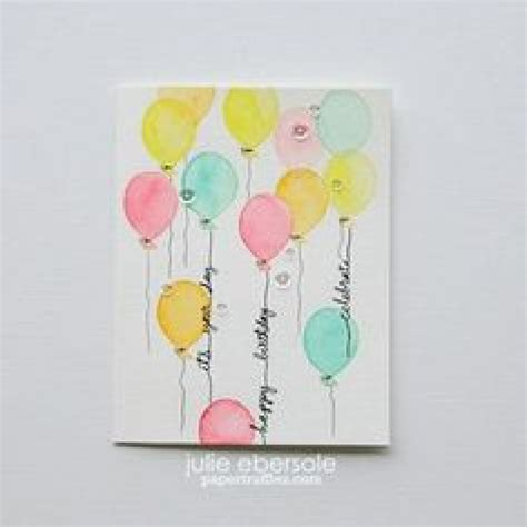how to make watercolor greeting cards greeting card easy diy thank you cards ombr 233 watercolor