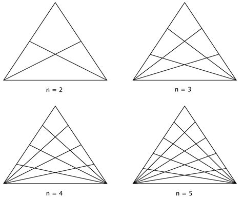 how many triangles are there in this diagram maths discoveries how many triangles in a triangle