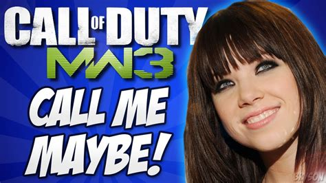 carly rae jepsen youtube channel call me maybe call of duty sings carly rae jepsen youtube