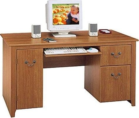 Concealed Computer Desk Bush Wc01718 Computer Desk Concealed Vertical Cpu Storage Box Drawer For Office Supplies File