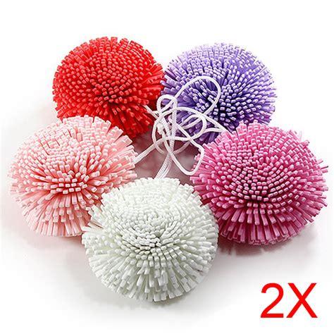 Busa Spons Mandi Bath Sponge Shower Puff ybc 2 buah bola untuk mandi mandi tubuh pengelupasan engah