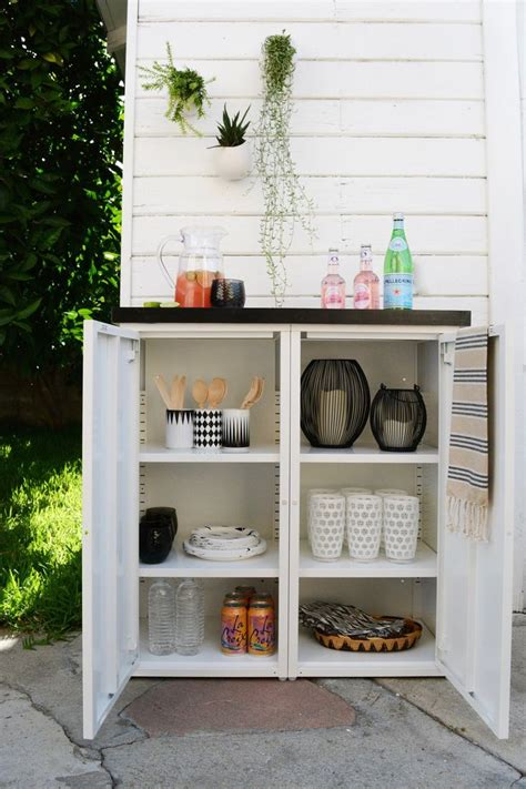 outdoor furniture storage cabinets 25 best ideas about outdoor storage on