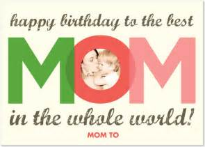 photo birthday greetings for the best mom giftsmate
