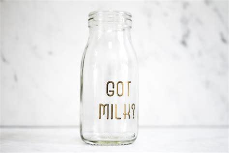 Wholesale Home Decor Items Got Milk Bottle Vase Crushes