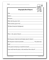biography report template biography book report template search results calendar