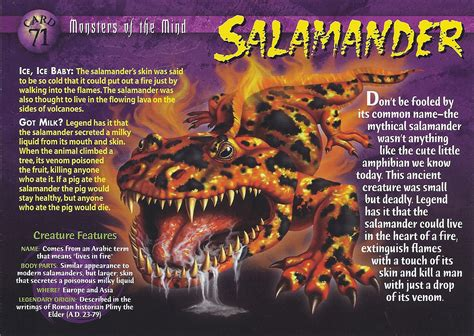 true stories of macabre monstrous creatures monstrous monsters books salamander wierd n creatures wiki fandom powered