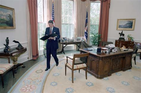 reagan oval office ronald reagan presidential library national archives and