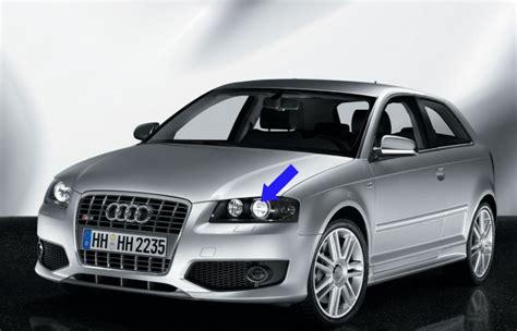 Audi A3 8p Scheinwerfer by Audi A3 8p Bi Xenon Headlights 2003 2008