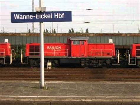 wanne eickel hbf deutsche bahn dieselloks baureihe 294 im lokhof wanne