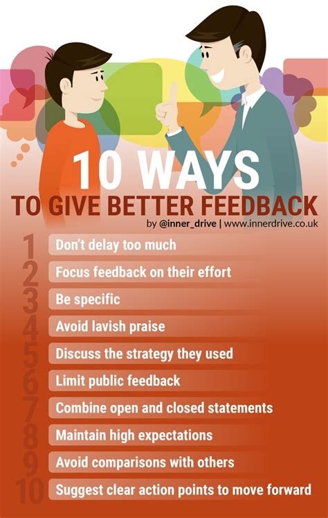how to give better 10 ways to give better feedback football toolbox