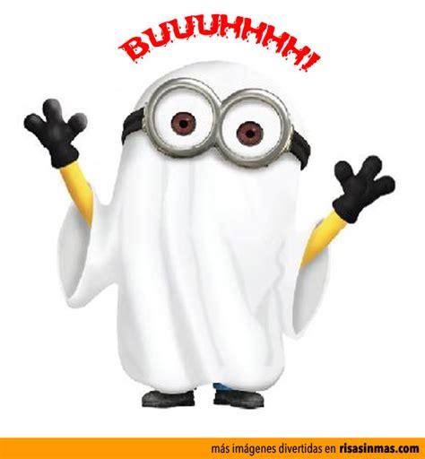 imagenes graciosas minions minion fantasma de halloween humor e im 225 genes