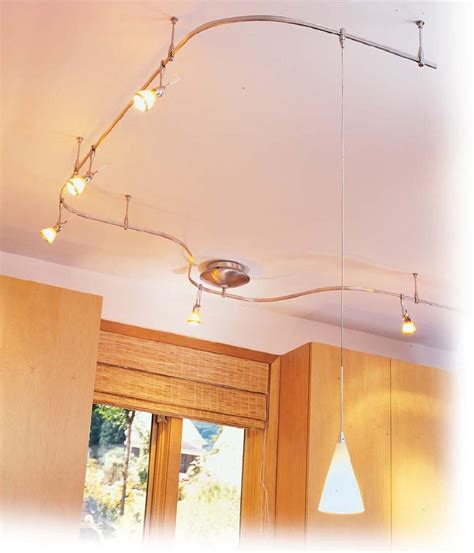 kitchen track light fixtures use flexible track lighting when versatility is needed