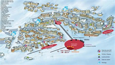 val thorens appartments val thorens resort map