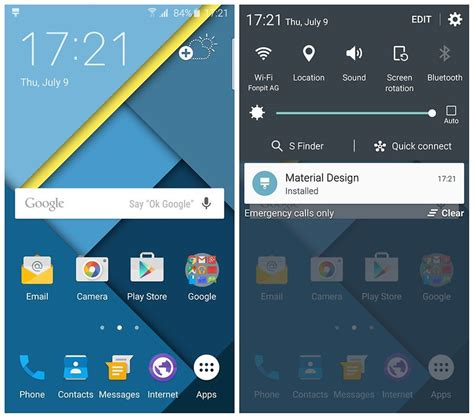 design themes for galaxy s6 how to turn the samsung galaxy s6 or s6 edge into a nexus