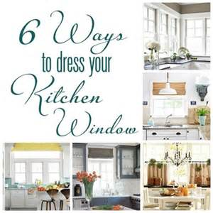 Bamboo Valance Curtains 6 Ways To Dress A Kitchen Window Centsational