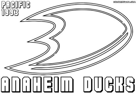 anaheim ducks coloring pages nhl logos coloring pages coloring pages to download and