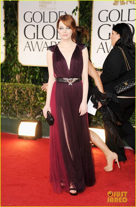 emma stone red carpet dresses golden globes fashion in the urban jungle