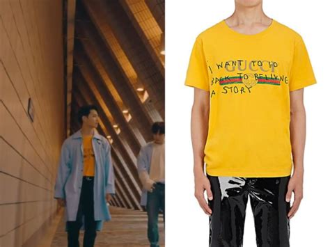 Tshirt 7music jb wear gucci t shirt in got7 you are
