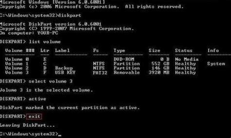 tips to install windows 7 vista using bootable usb flash