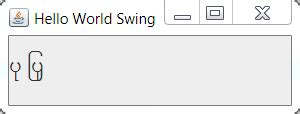 java swing hello world answer for how to unicode myanmar texts on java
