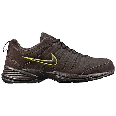 nike t lite x nbk s shoes brown shoes leather trainers