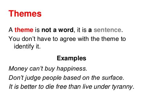 themes list read it write it tell it theme examples alisen berde