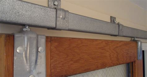 Interior Barn Door Track System by Barn Door Track System Interior Home Design