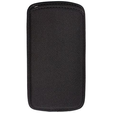 Sr Hp Smsng Mega 6 3 Inch Single black neoprene sleeve with cellphonebot cellphones