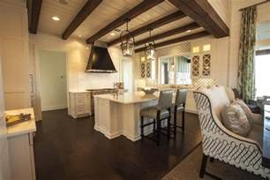 kitchen ceiling beams cottage kitchen southern living