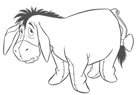 Eeyore Coloring Book Eeyore Colouring Pages
