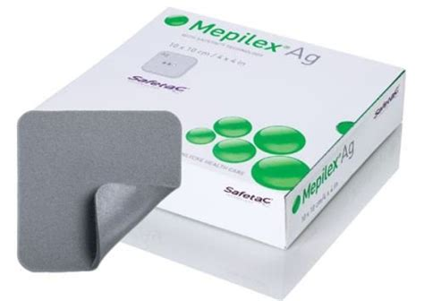 Styrofoam Box Ag 75 Garuda mepilex ag 4x4 silver dressingg box of 5