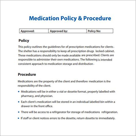 free policy templates best photos of policies and procedures manual template