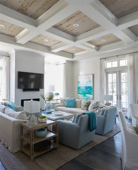 geoff chick and associates sand hill residence beach style living room other