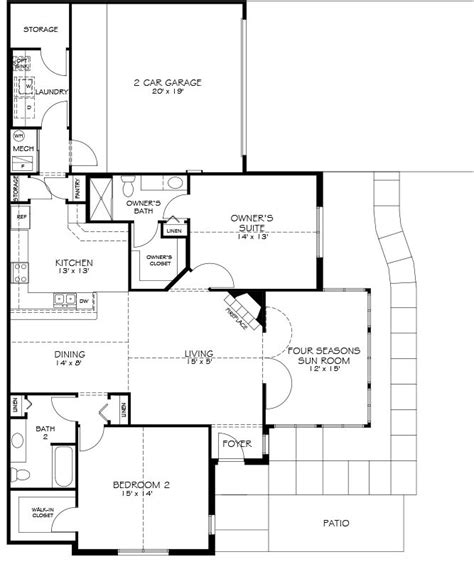 epcon canterbury floor plan models maples at the sonatas epcon communities