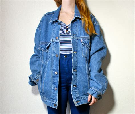 oversized denim jacket frankielauren s blog
