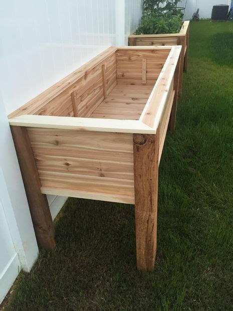 best 25 raised planter boxes ideas on planter