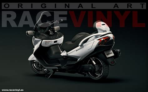 Wallpaper Sticker 125 suzuki burgman new stripes kit available racevinyl europe