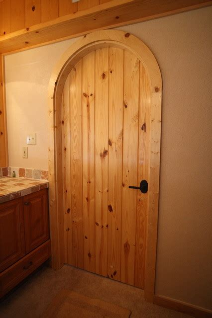 Bathroom Interior Door Custom Arched Interior Door Traditional Bathroom By Acme Doors