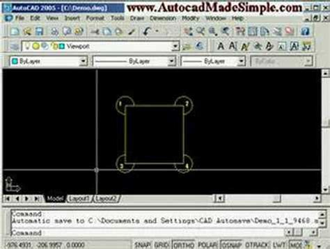 tutorial autocad viewports autocad tutorial viewports pt 1 of 3 youtube