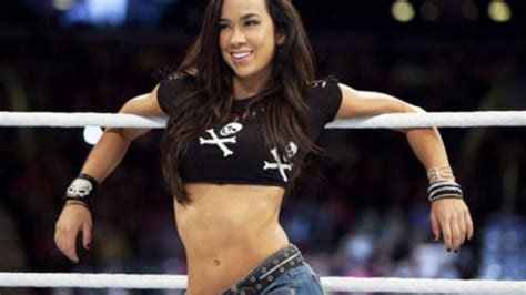 wwe miss april wrestler together with cool hairstyles long hair aj lee related keywords aj lee long tail keywords