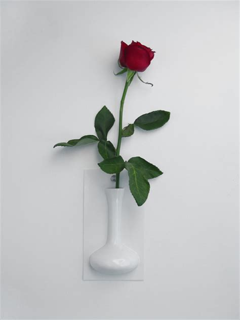 cool wall flower vase flow by ernest perera digsdigs