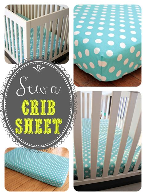 Crib Bedding Tutorial Sew A Crib Sheet Baby 3 Gets Bedding View From The Fridgeview From The Fridge