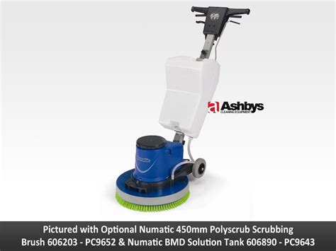 Floor Scrubber Machines by Numatic Hurricane Hfm1515 Rotary Floor Scrubber