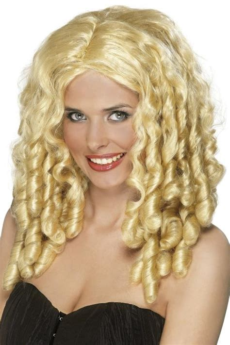 redheaded long hairstyle with semi spiral curls ladies long curly wig fancy dress with spiral curls film