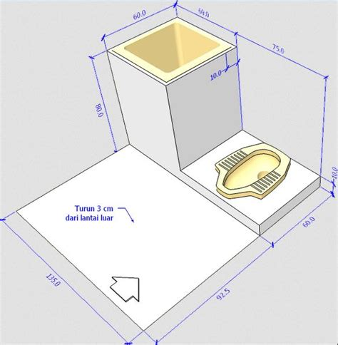 desain kamar mandi dengan kloset jongkok inilah desain kamar mandi sederhana dengan kloset jongkok