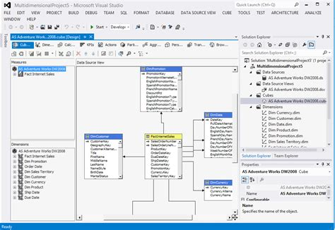 sql server data tools business intelligence for visual