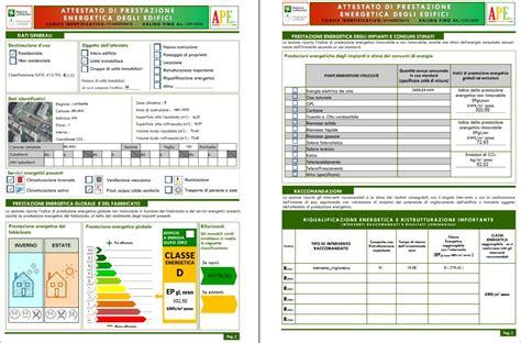 classe energetica di un appartamento certificazione energetica certificato energetico ape cos 232