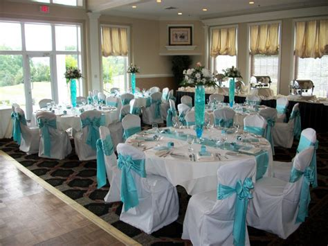 blue wedding reception decorations wedding ideas